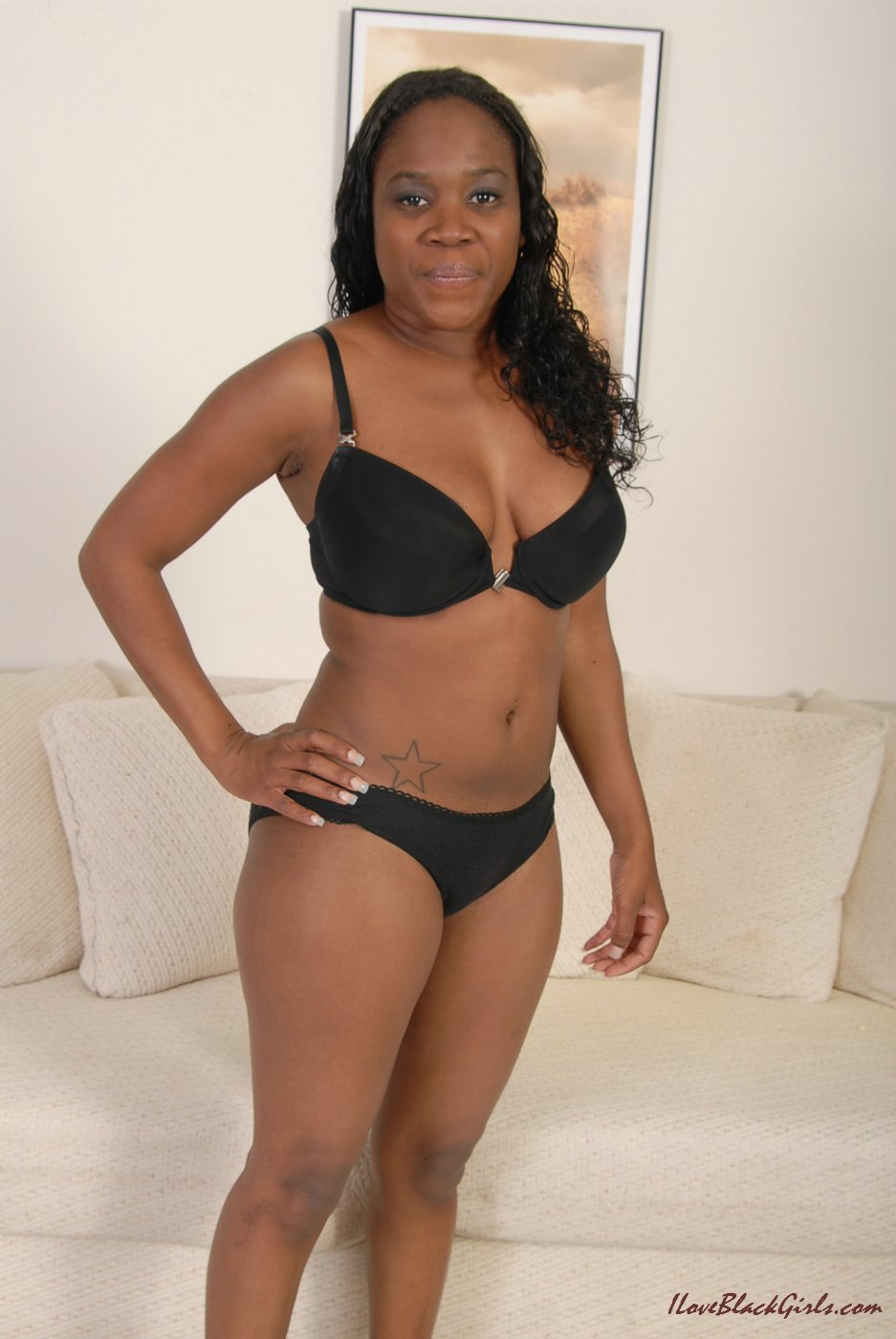 Big xxx black bbw mom above