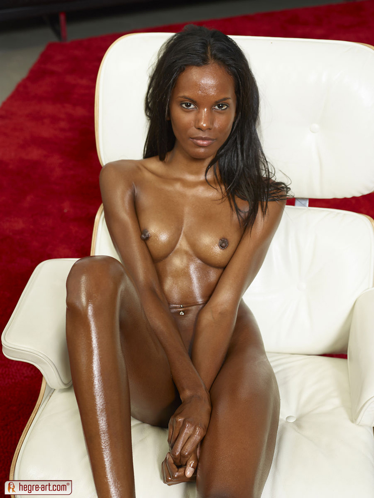 Tall thin sexy naked black girls excited